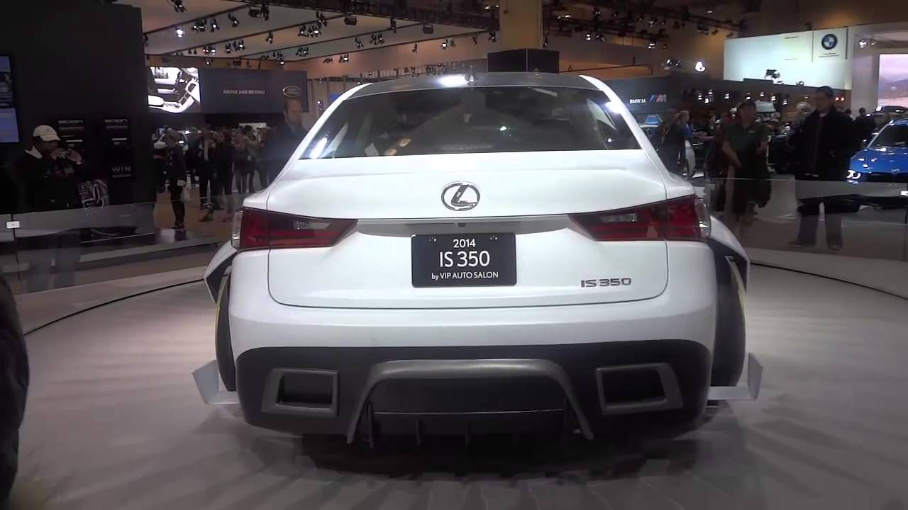 hight resolution of heavily modified 2014 lexus is350