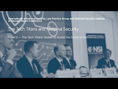 The Tech Titans' Duties to Assist the Government [The Tech Titans and National Security]