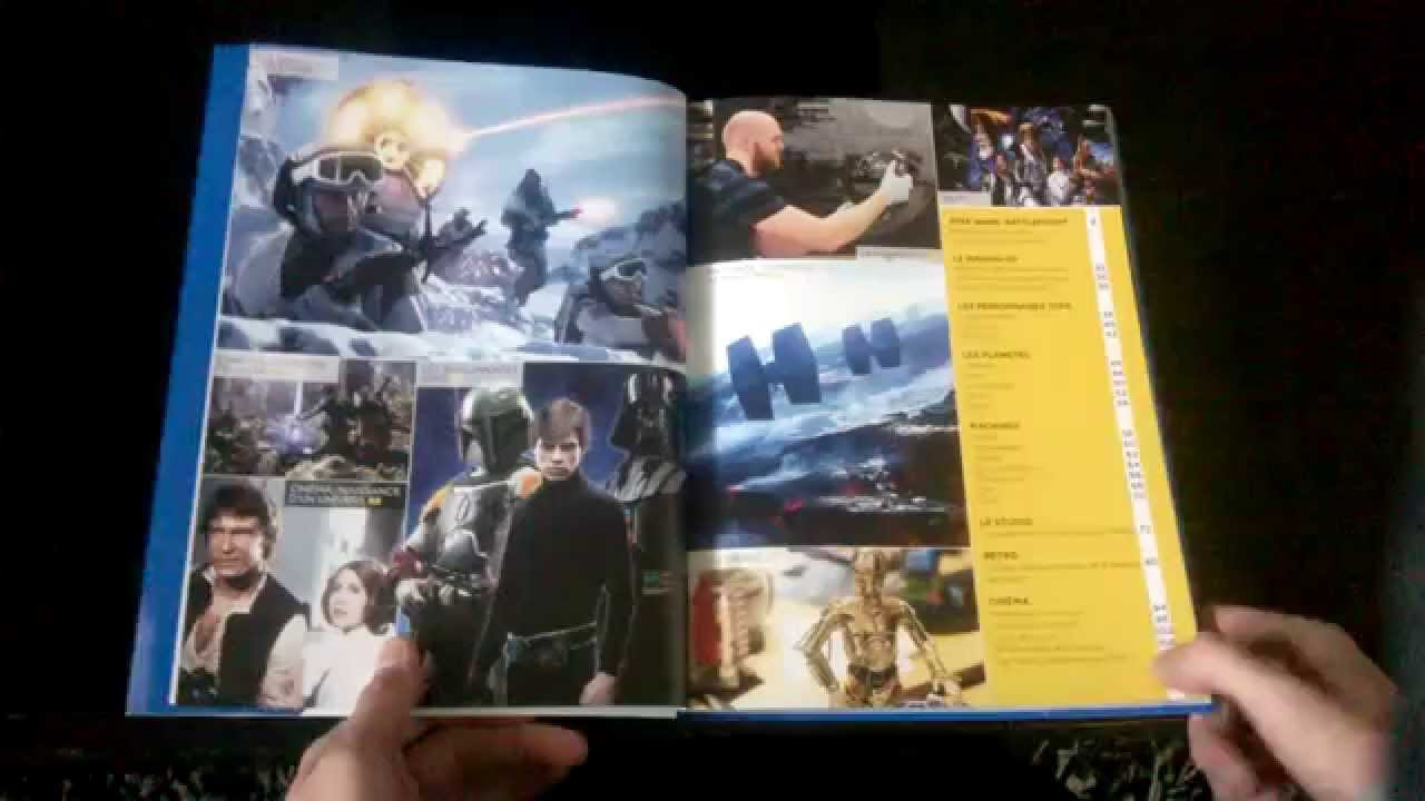 Presentation Du Livre Inside De Star Wars Battlefront