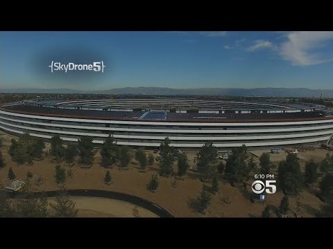 New Apple Spaceship Campus Nearing Completion