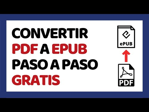 Cómo Convertir PDF a Epub Gratis 2017 (Sin Programas)