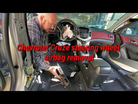 Chevrolet Cruze Steering Wheel Airbag Removal