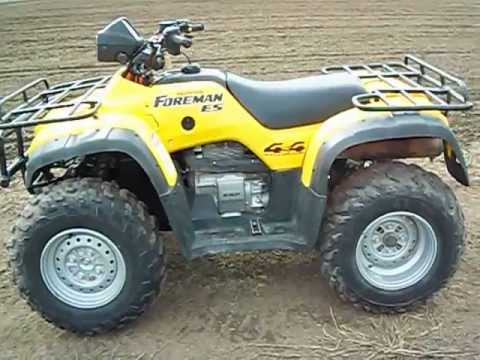 02    Honda       Foreman       450    ES 4x4  YouTube