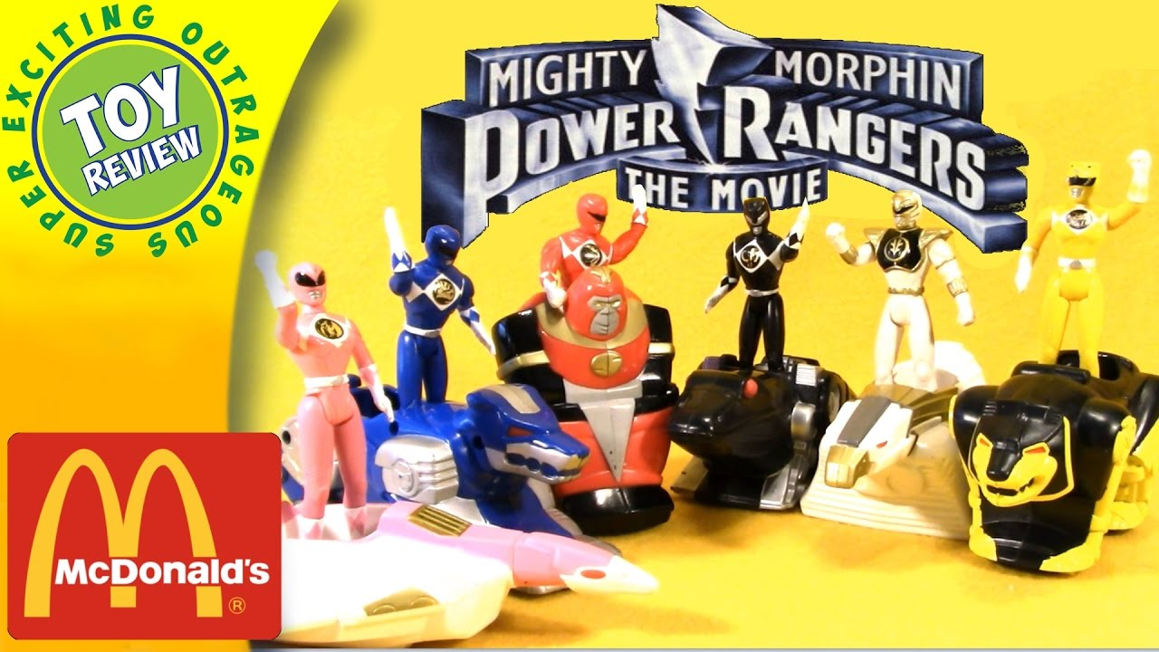 Image result for Happy Meal power rangers