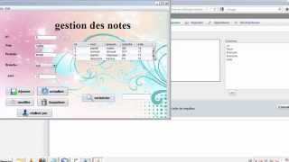 mini projet application gestion des etudients en JAVA+MYSQL thumbnail