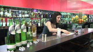 Winter Fizz - Highland Spring Sparkling Cocktail