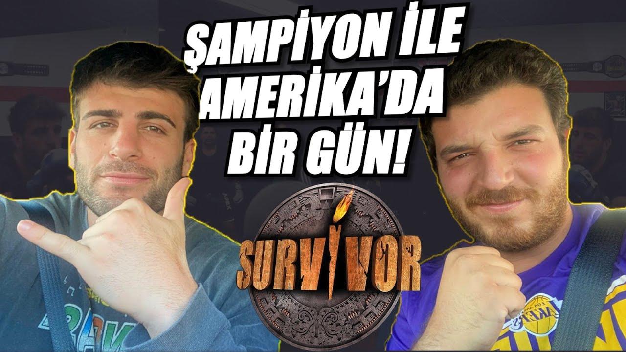 Amerika'da Survivor Şampiyonu İle Bir Gün Geçirmek w/ @Yusuf Karakaya