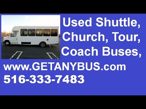 Used Buses For Sale Call 516 333 7483 2009 Ford E450 Shuttle Bus