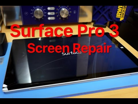 surface-pro-3-screen-replacement,-start-to-finish