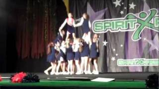 north davie middle school cheerleading competition