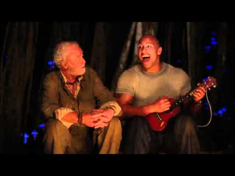 THE ROCK SINGING - WHAT A WONDERFUL WORLD IN JOURNEY 2 THE MYSTERIOUS ISLAND -720p BluRay