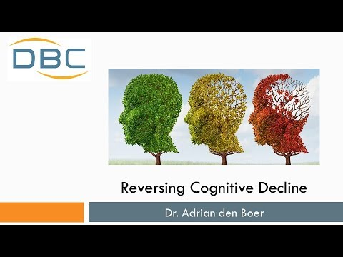 Cognitive Decline - Stopping Alzheimer's Disease