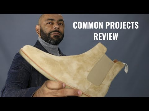 Common Projects Suede Chelsea Boots 2 Year Update And Review