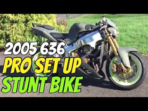 2005 Kawasaki Ninja 636 Pro set up Stunt Bike Street Legal for Trade / Sale