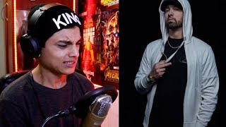 (Eminem - Trap God) Lucky You (Feat. Joyner Lucas) [Official Audio] (Album Kamikaze) Reaccion