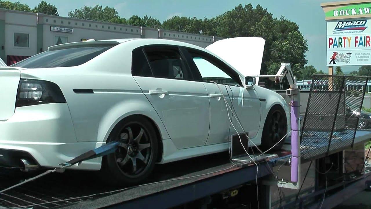Acura TL Turbo Outdoor Dynomp YouTube - Turbo acura tl