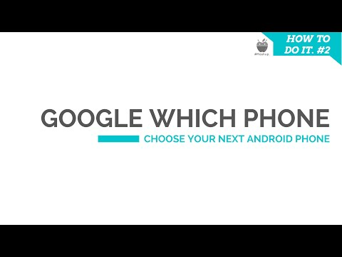 Google Which phone : Tool to find your next android phone.