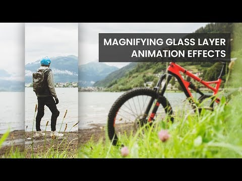 Magnifying Glass Layer Image Hover Effects | Html CSS Tricks