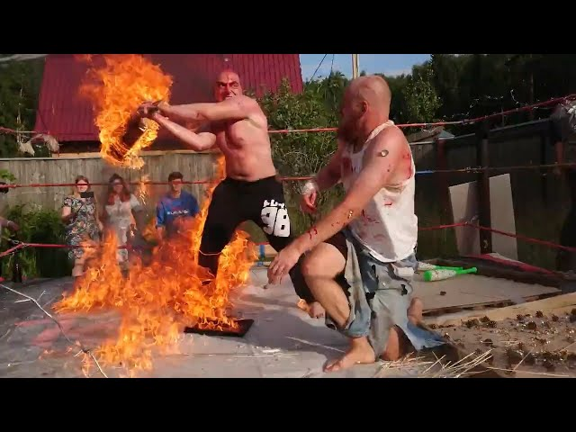 (Slavonic Violence 2018\Death Match 2018) Aleksandr Nabiev  vs  Cross Magadan