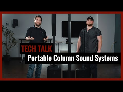 3 Of The Top Portable Column Line Array Speaker Systems On Pro Acoustics Tech Talk Episode 8