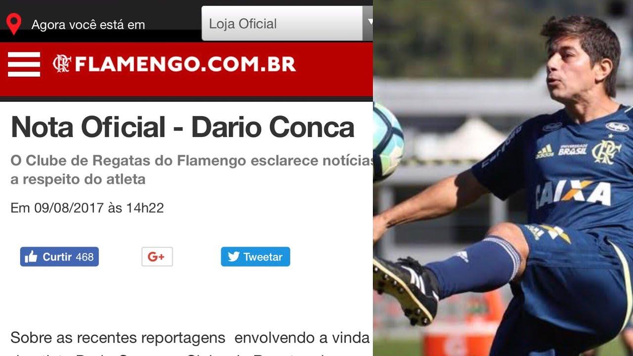 Em meio a muita polªmica Flamengo solta nota oficial sobre o caso