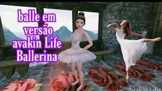 balle versão avakin Life #bailarina
