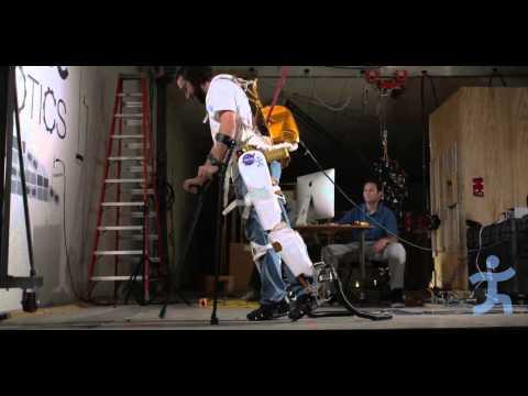 IHMC NASA JSC X1 Exoskeleton Powered with UT-SEA Ankles