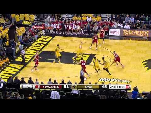 Wisconsin Badgers vs  Iowa Hawkeyes  -   January 31, 2015