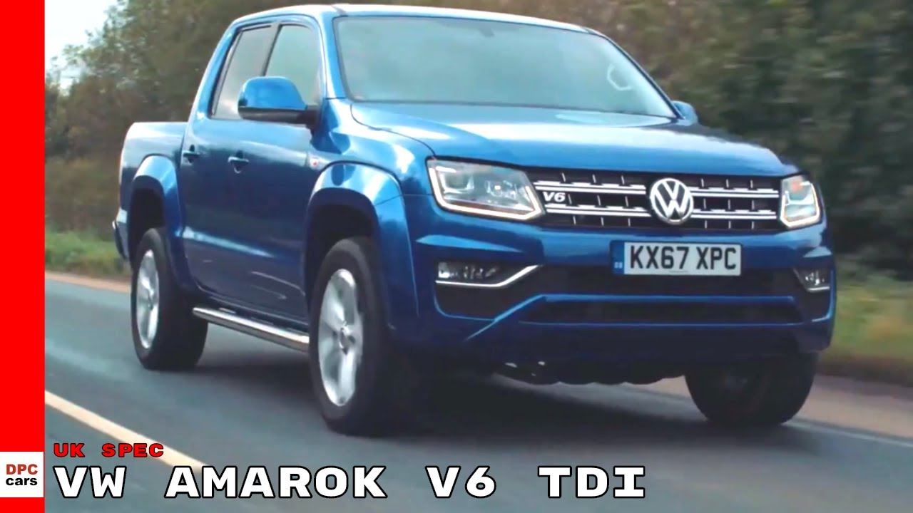 2017 VW Amarok V6 TDI UK Spec