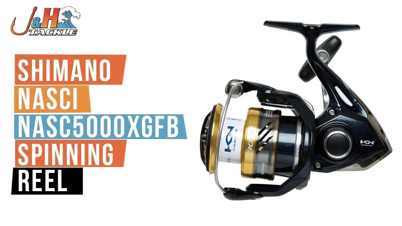Shimano NASCI NASC5000XGFB Spinning Reel | J&H Tackle