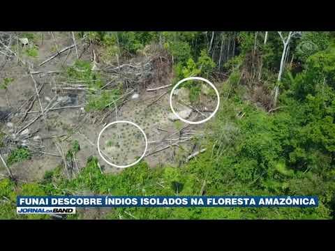 Funai descobre índios isolados na Amazônia