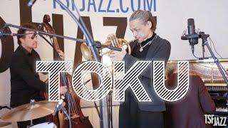 """Il nous avait bluffé lors de son passage dans le #DeliExpress, (re)découvrez le trompettiste et chanteur Toku en session dans notre studio avec """"Love Is Calling ..."""
