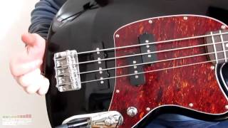 ibanez tmb100 talman bass review tone test