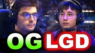 OG vs LGD - AMAZING SEMI FINAL - TI9 THE INTERNATIONAL 2019 DOTA 2