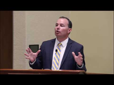 UHIMSS Fall 2017 Luncheon with Senator Mike Lee - National Healthcare Reform