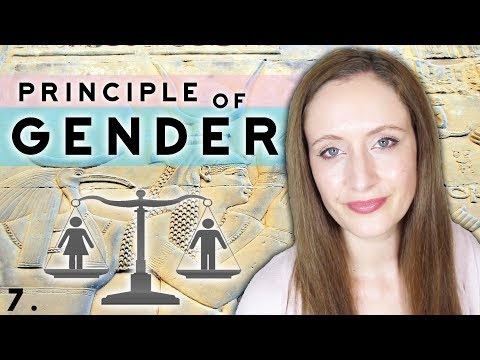 The Hermetic Principle of GENDER Explained. How To Apply It To Life. The Kybalion No.7 of 7.