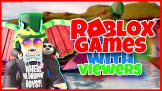 Roblox Games w/ Subscribers Live | Roblox Mad City, Arsenal + more!