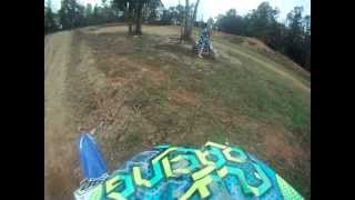 Yz250f Blowing up Helmet Cam Gopro North Carolina Motorsports Park