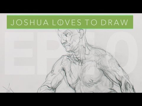 Joshua Loves to Draw // EP. 10 // Planes and Direct Construction  // Recorded 05/11/18