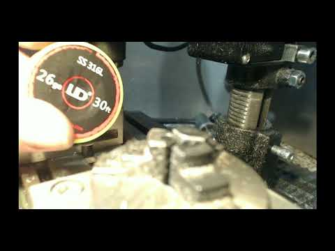 Atomizer Drahtaufnahme am Plus Pol verbessern - YouTube