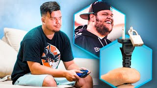 TRANQUEI A TOMADA DO PLAYSTATION DELE ‹ EduKof ›