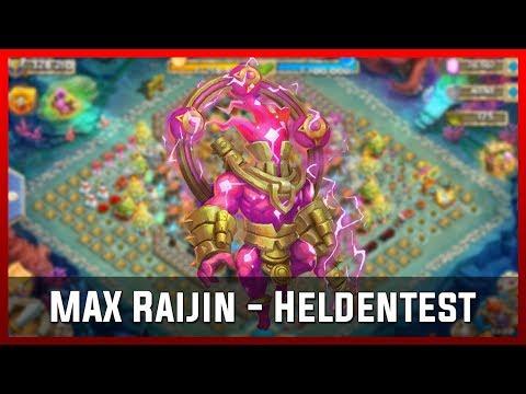 MAX Raijin - Heldentest | Castle Clash [Deutsch]