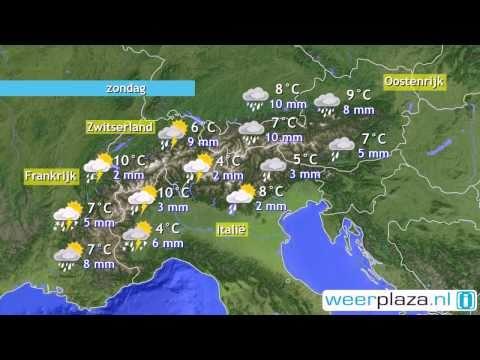Wintersport Weerbericht Sneeuw In Oostenrijk Youtube