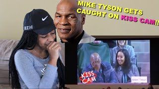 Couple Reacts : Mike Tyson Gets Caught on Kiss Cam!!!