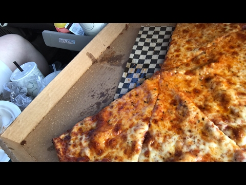 NY Style Pizza and Eating Said Pizza
