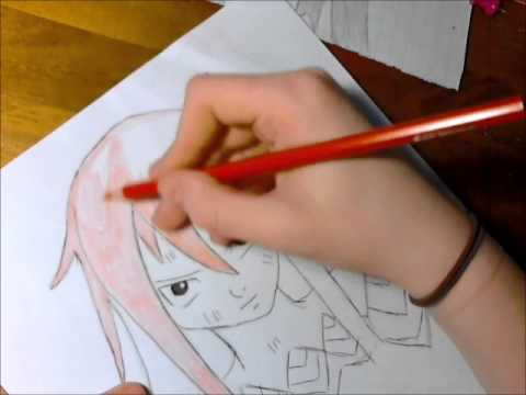 Dessin Fairy Tail Erza Scarlet Youtube