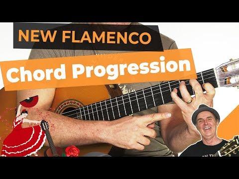 Basic New Flamenco Chord progression   Spanish Flamenco Guitar Lesson