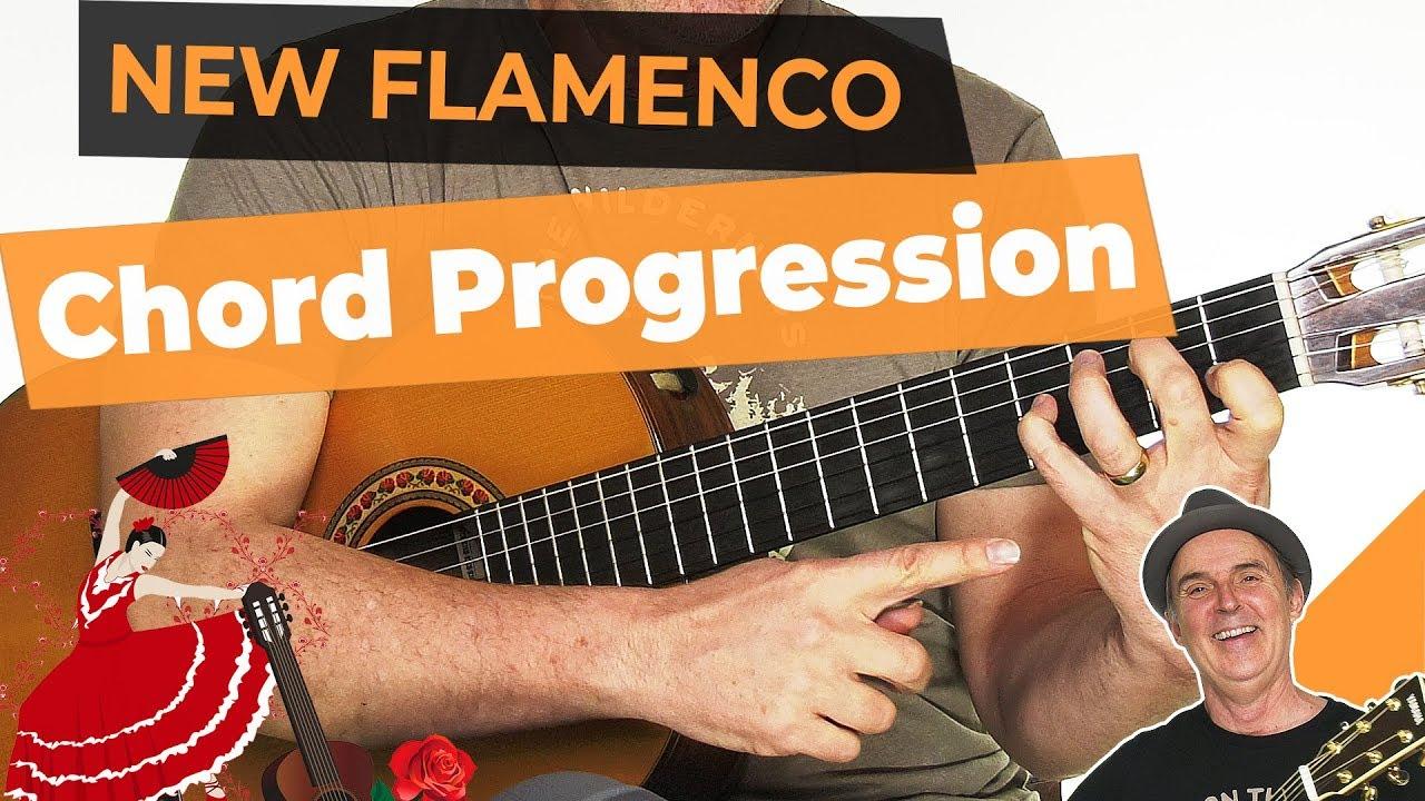 Basic New Flamenco Chord progression | Spanish Flamenco Guitar Lesson
