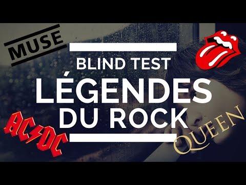 Été 2018 | Blind Test | Légendes Du Rock