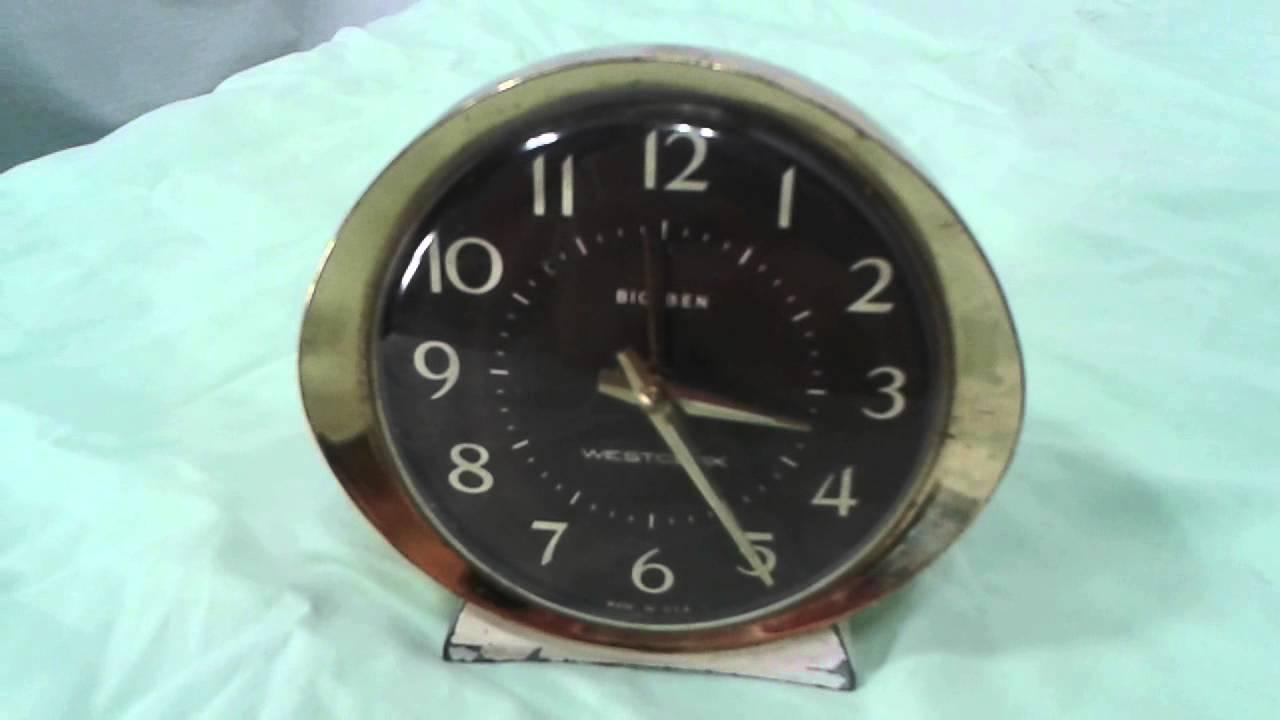 Vintage 1960s Westclox Big Ben Wind Up 24 Hour Run Youtube